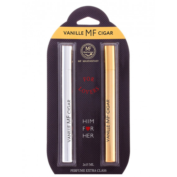 "Духи Экстра Класса ""For Lovers"" VANILLE MF CIGAR 2x15 ml"