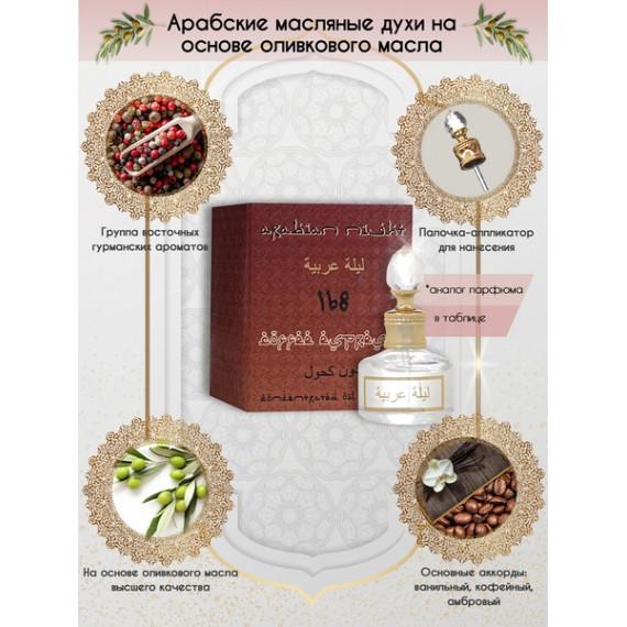 Арабские Масляные Духи Arabian Night №168 Coffee Espresso 20 мл